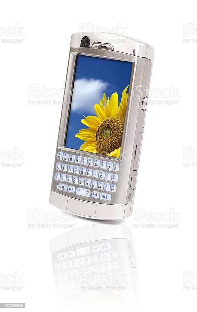Hitech Tasca Per Telefono Cellulare Isolato Su Sfondo Bianco