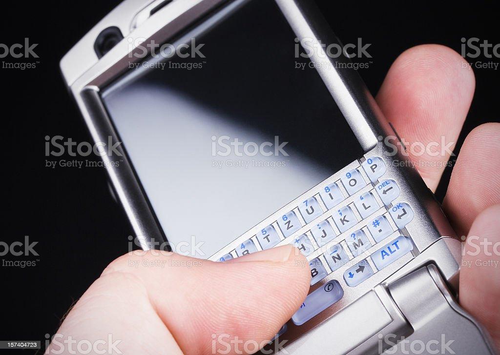 Hi-Tech PDA mobile phone royalty-free stock photo