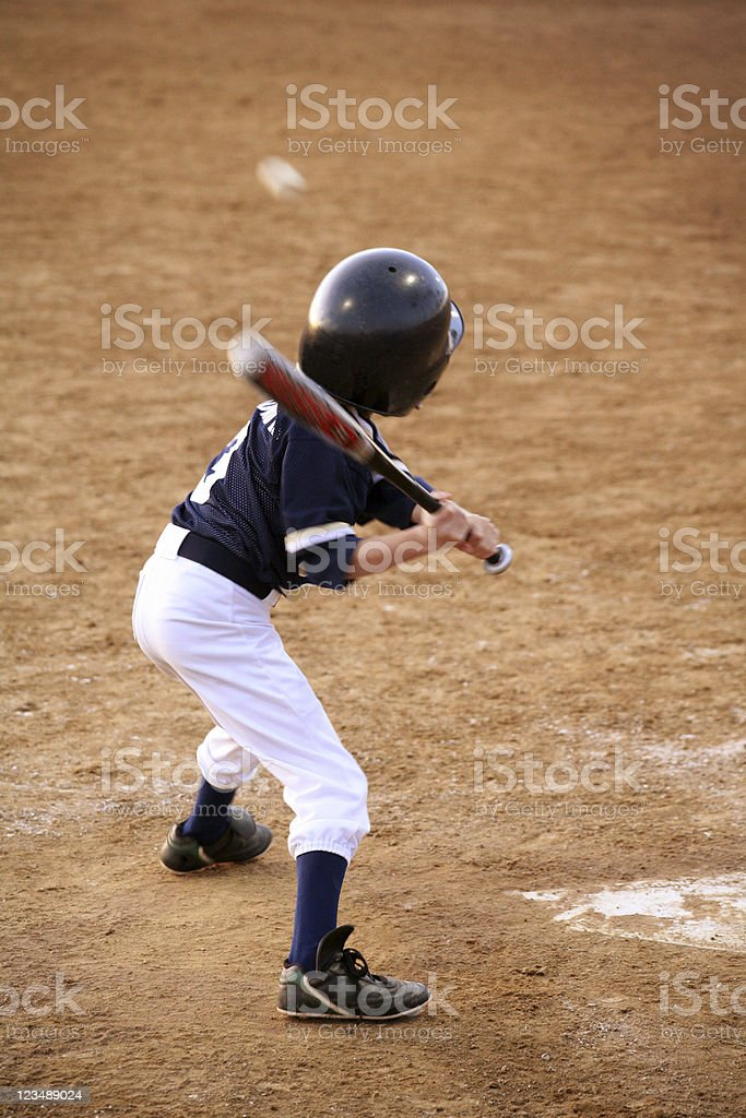 hitter royalty-free stock photo