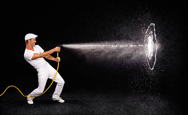 Hitting the target  hose stock pictures, royalty-free photos & images