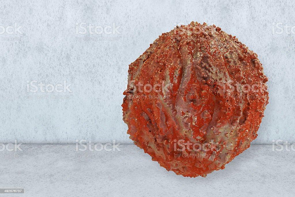 Hiv Virus - 3d rendered illustration royalty-free stock photo