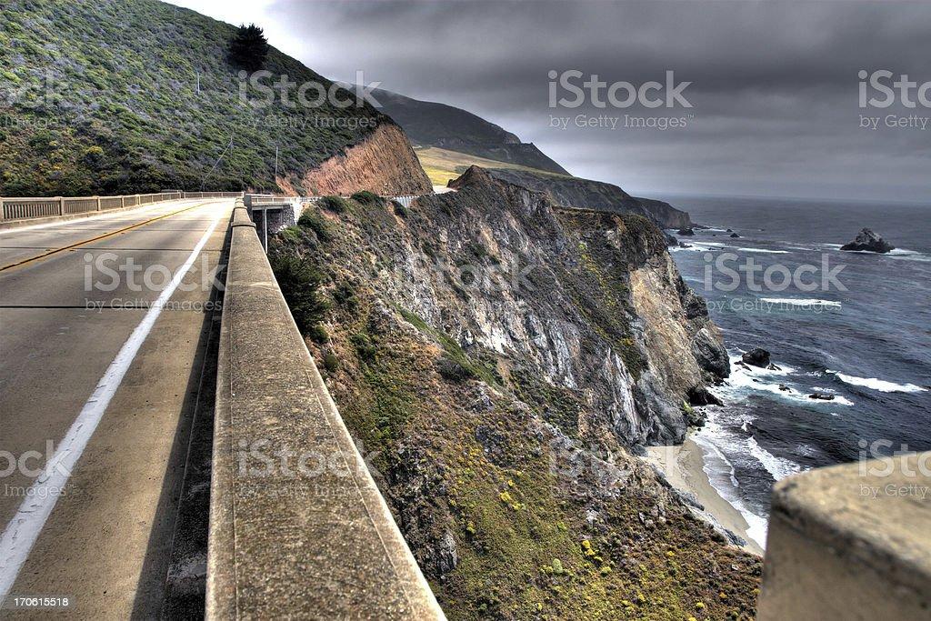 Prenez l'autoroute 1 Sur la côte de Big Sur - Photo
