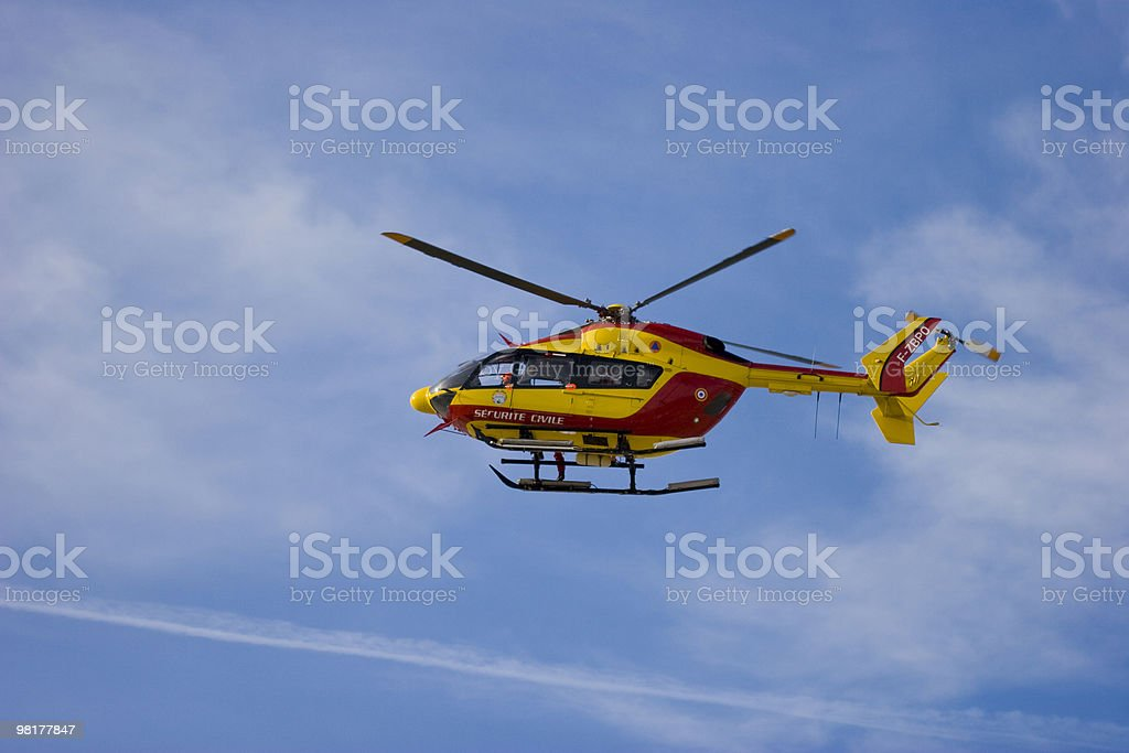 hélicopter royalty-free stock photo