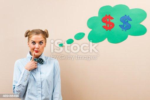 istock Hmmm money... 469488496