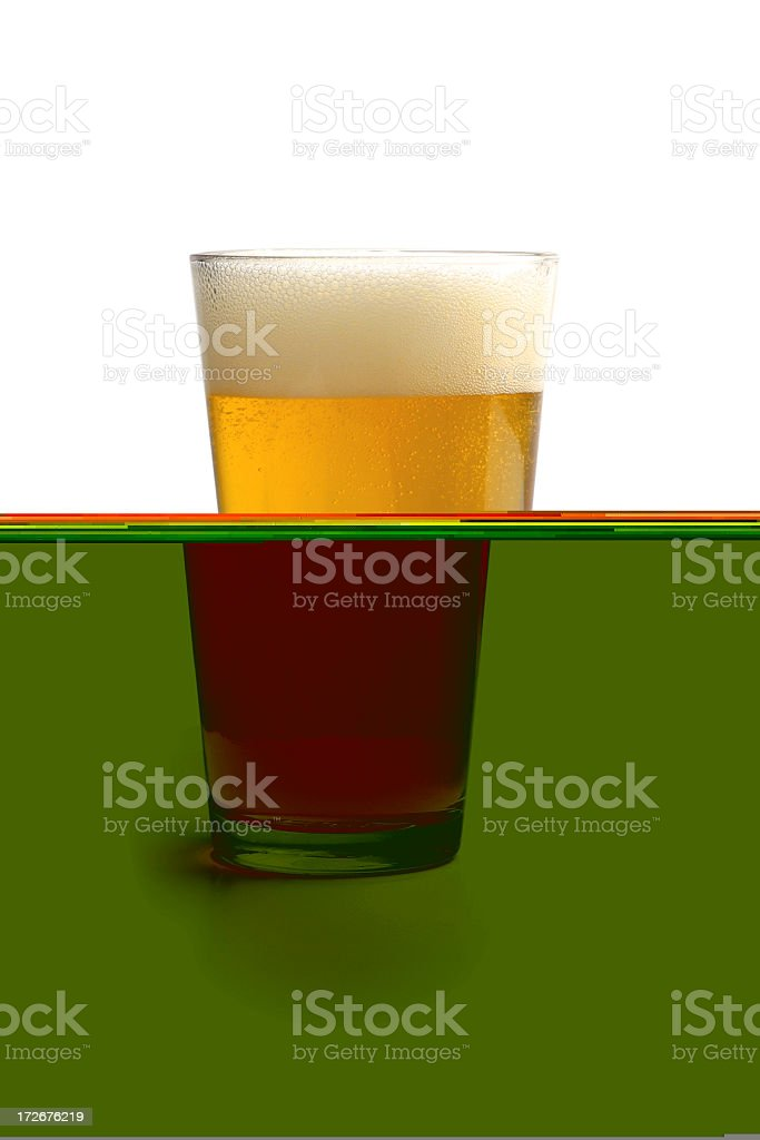 hmmm time for a pint, eh? royalty-free stock photo