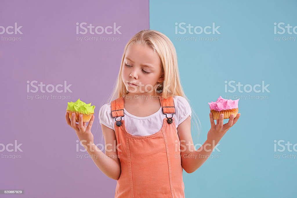 Hmm...now which one should I choose? stock photo
