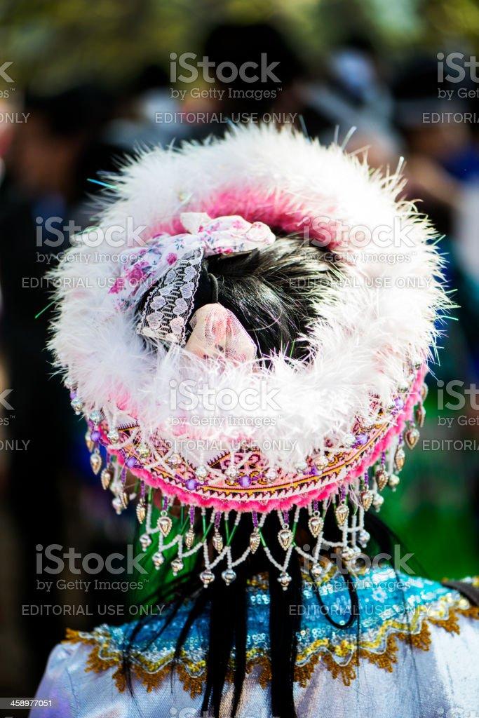 Hmong Hat stock photo