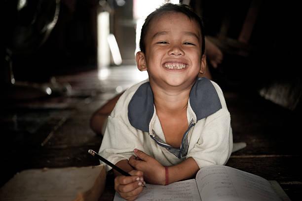 Hmong kleine Jungen – Foto