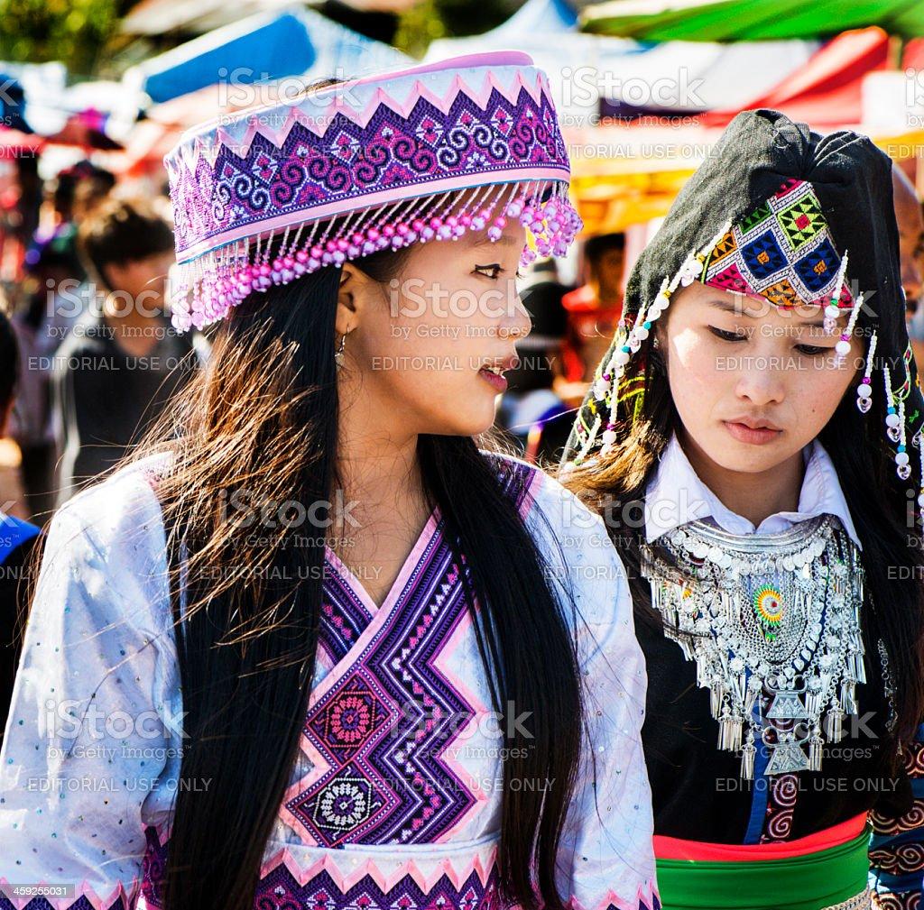 Hmong New Year Celebration stock photo