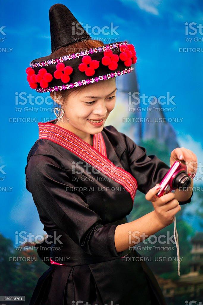 Hmong Style stock photo