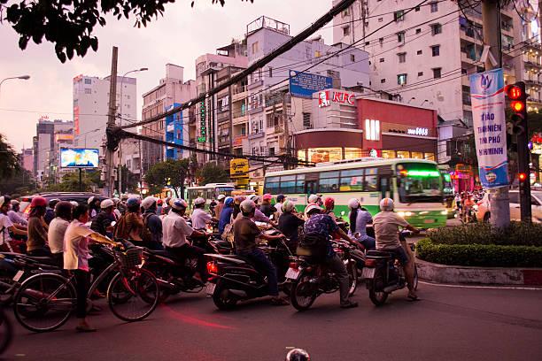 Ho-Chi-Minh-Stadt mit dem Fahrrad – Foto
