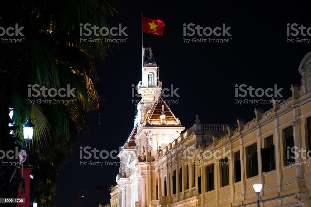Ho Chi Minh City Hall stock photo