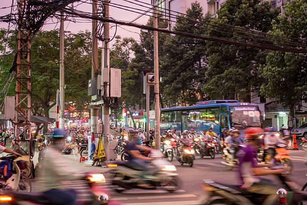 Ho-Chi-Minh-Stadt Straße – Foto