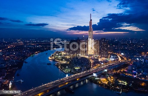 Ho Chi Minh City Sunset, Vietnam
