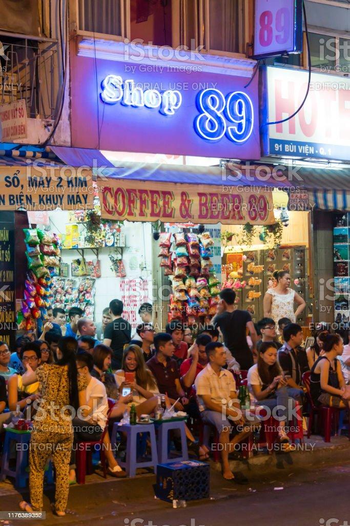 Ho Chi Minh City Vietnam Nightlife Stock Photo Download Image Now Istock