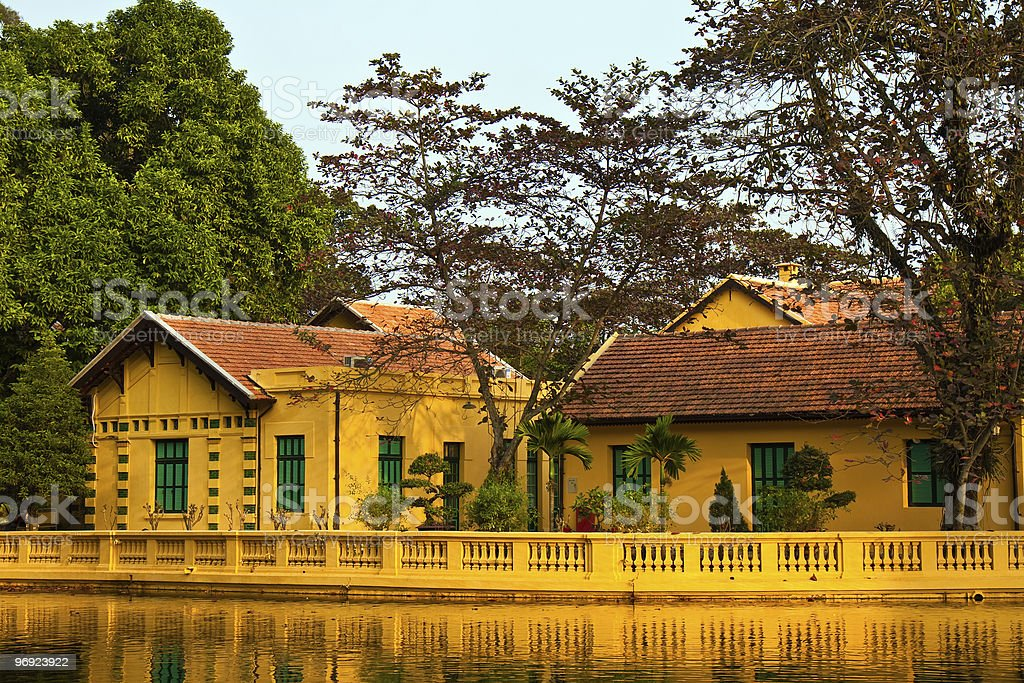 Ho Chi Minh's Residence royalty-free stock photo