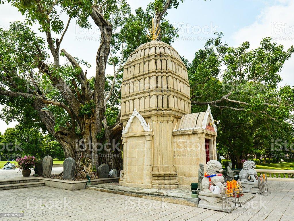 Ho Hem Monthian Thewarat - Ayutthaya, Thailand stock photo