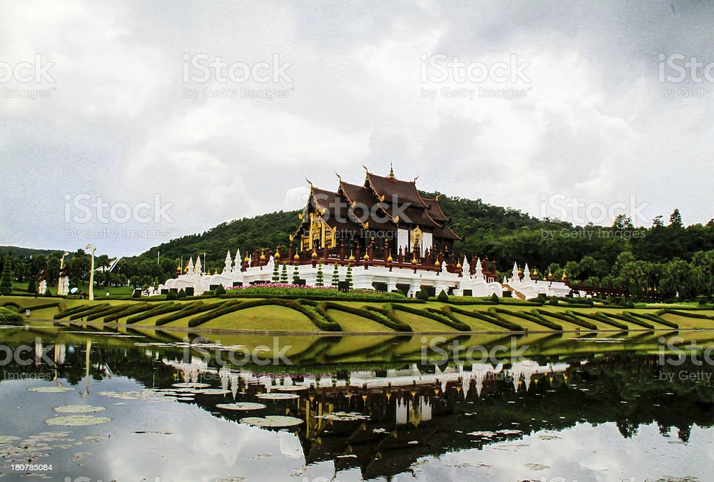 Ho Kham Luang. royalty-free stock photo