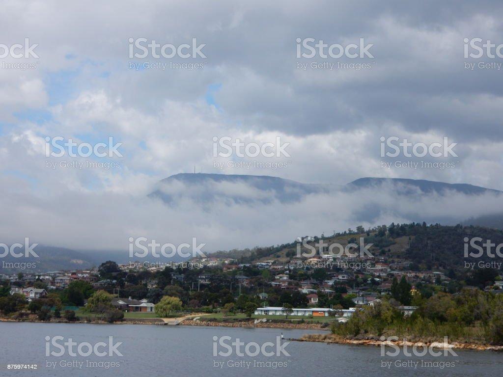 Hobart stock photo
