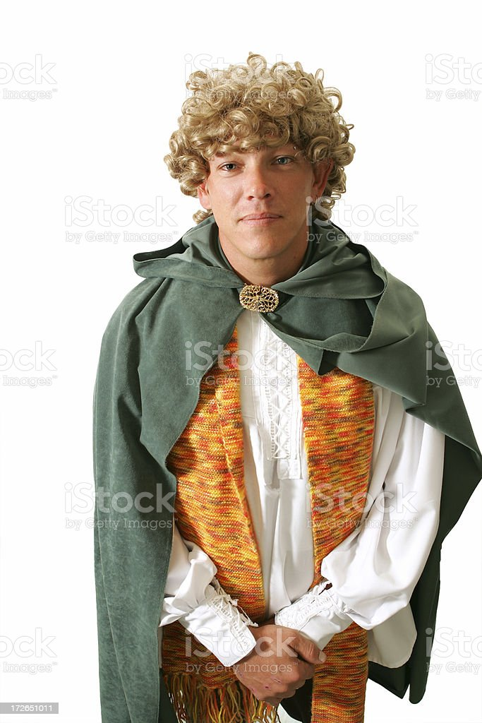 Hobbit royalty-free stock photo