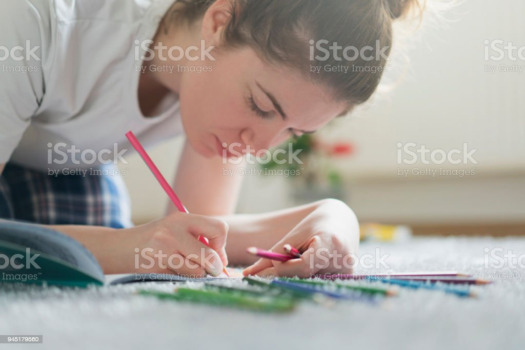 Hobby That Best Relaxes Me stock photo