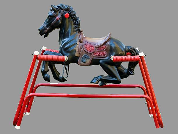 hobbyhorse stock photo