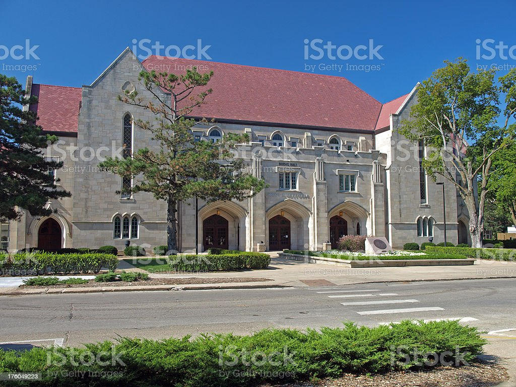 Hoch Auditoria stock photo