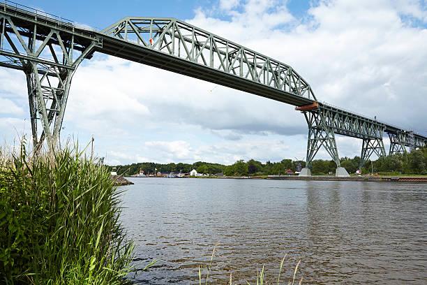 Hochdonn-Railroad-Brücke auf die Nord-Ostsee-Kanal – Foto