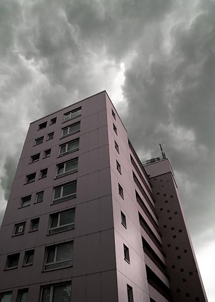 hochhaus stock photo
