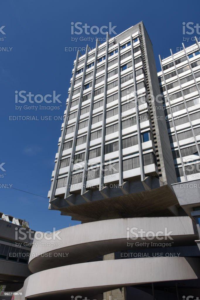Hochhaus zur Palme stock photo