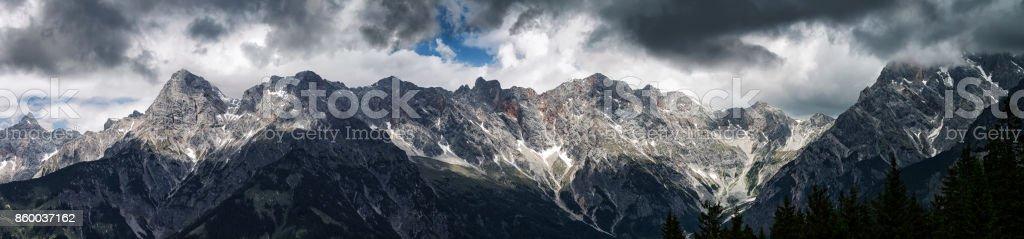 Hochkönig Mountain Range stock photo