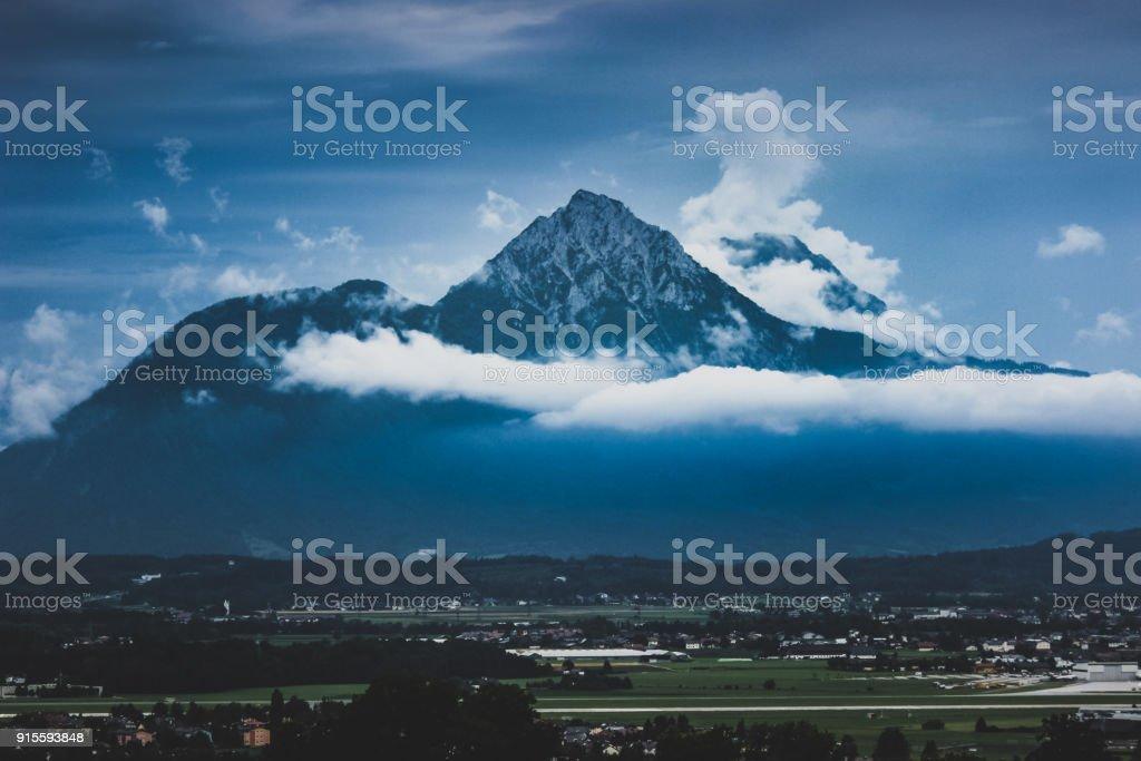 Hochstaufen und Zwiesel Berggipfel – Foto