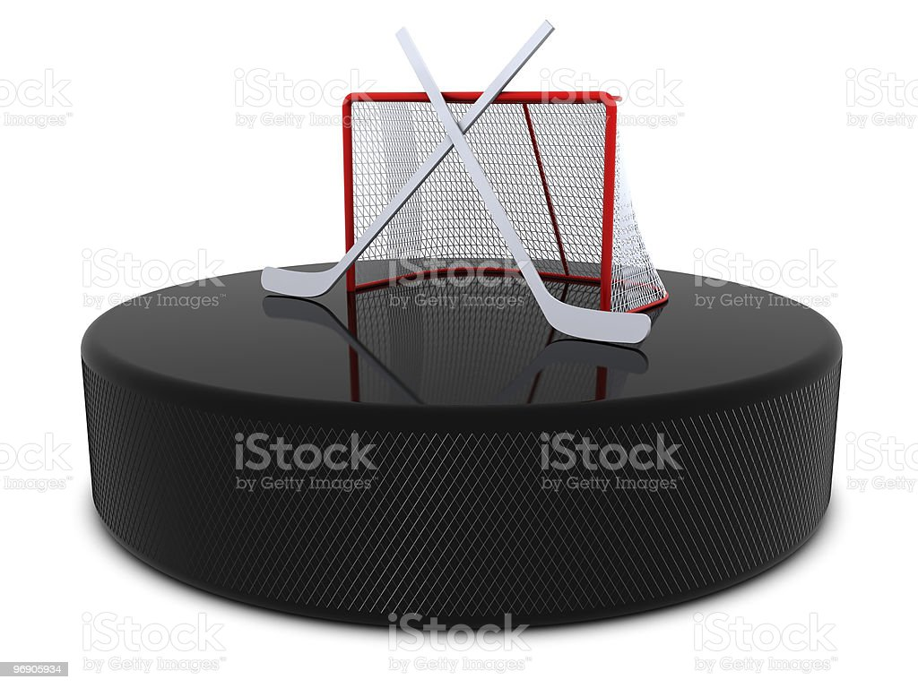 Hockey abstract royalty-free stock photo