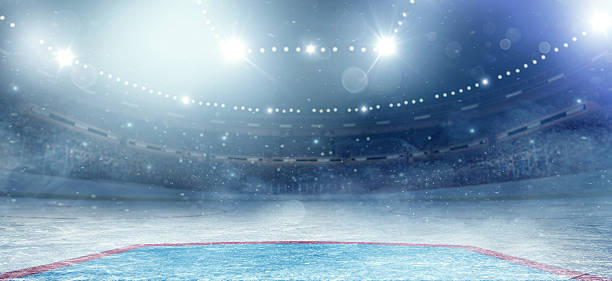 hockey arena - hockey stock pictures, royalty-free photos & images