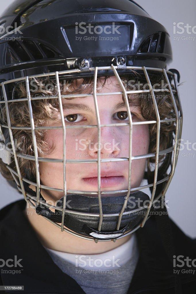 hockey closeup royalty-free stock photo