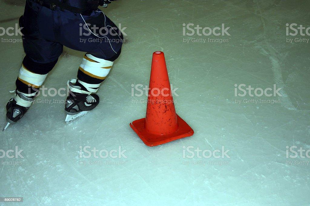 Hockey Drills royalty-free stock photo