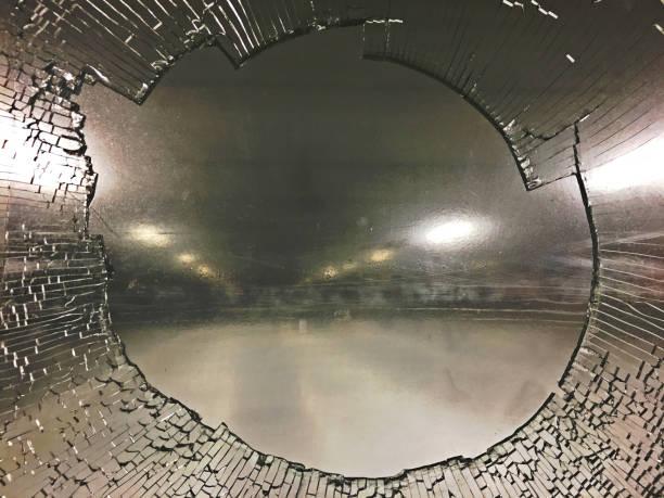 Hockey Glass stock photo