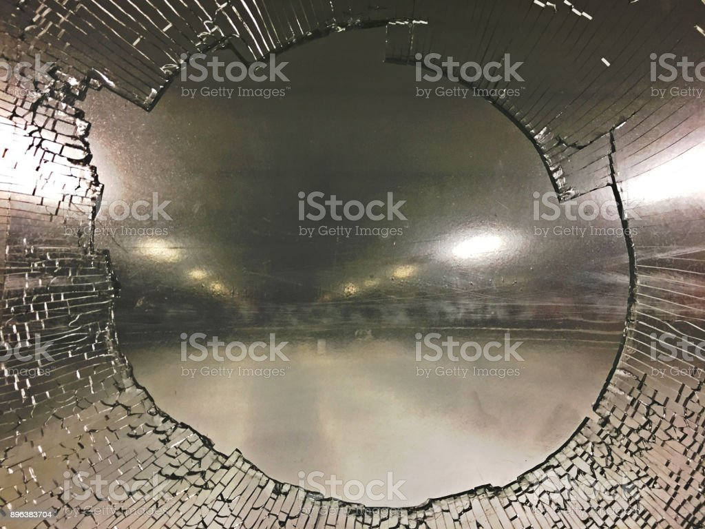Hockey Glass stock photo