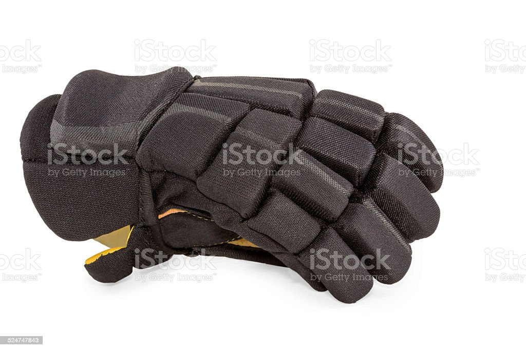 Hockey glove fielder stock photo