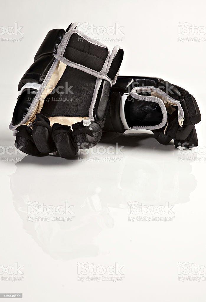 Hockey Gloves royalty-free stock photo