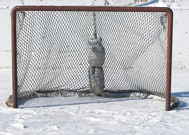 Hockey-Ziel – Foto
