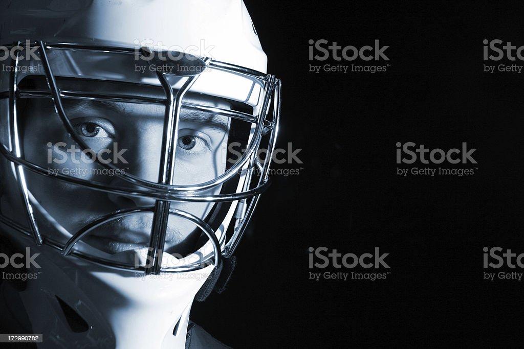 Hockey Goalie royalty-free stock photo