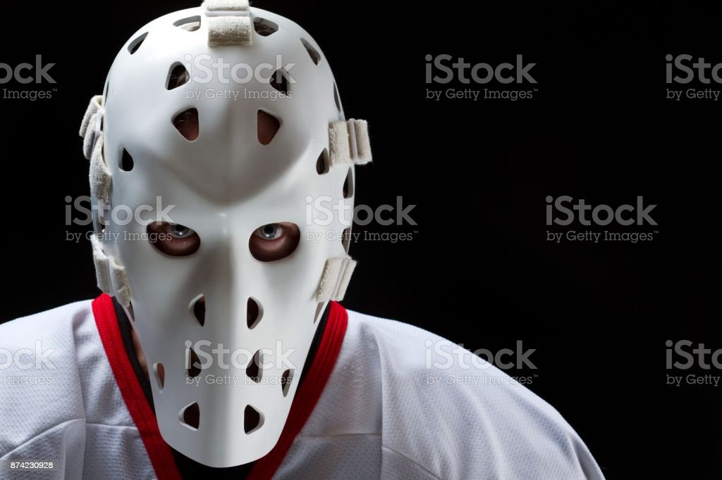 Hockey Goalie Vintage Stock Photo Download Image Now Istock