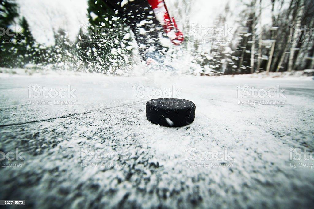 Hockey stock photo