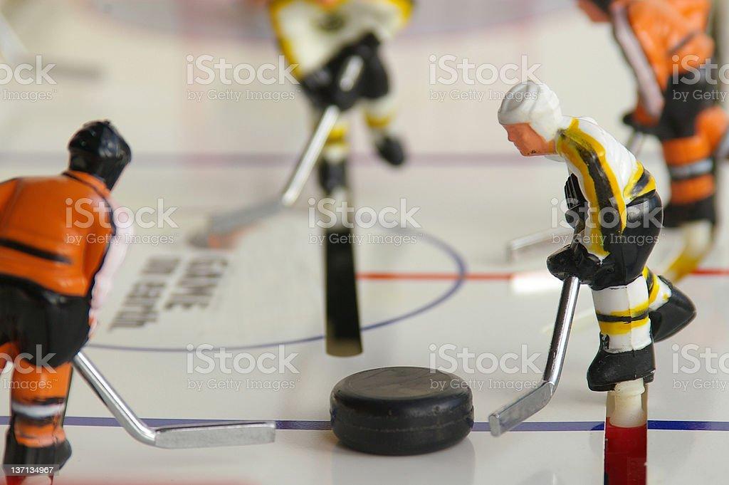 Hockey players royalty-free stock photo