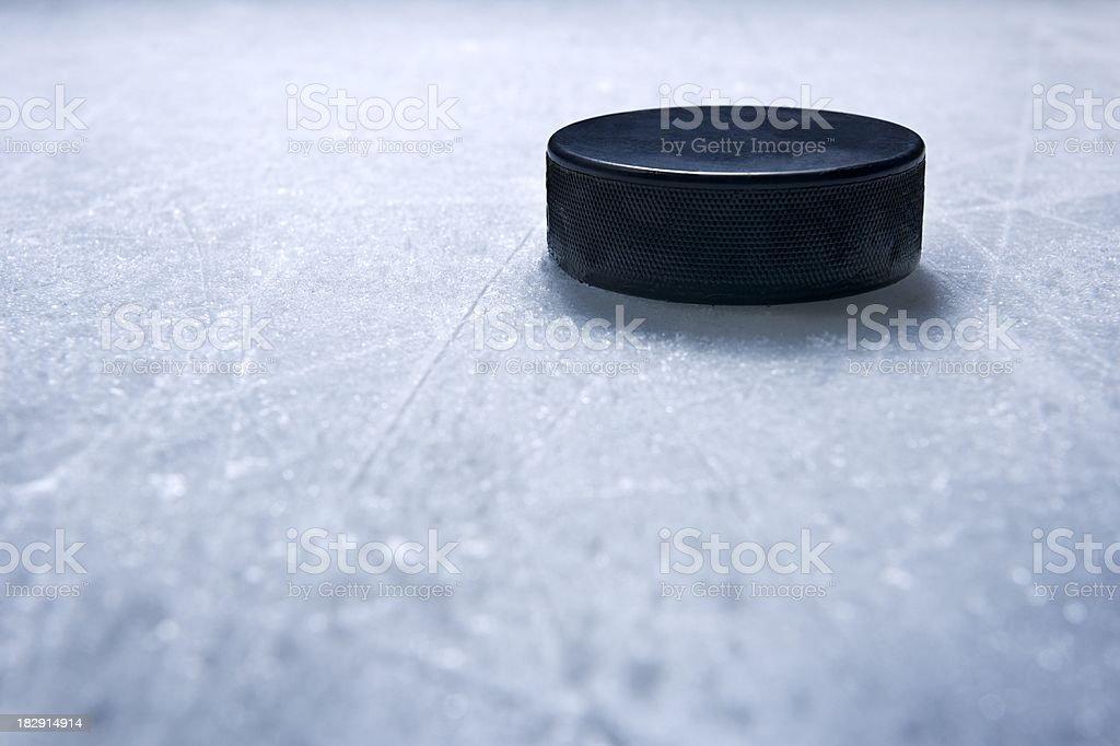 Hockey Puck royalty-free stock photo