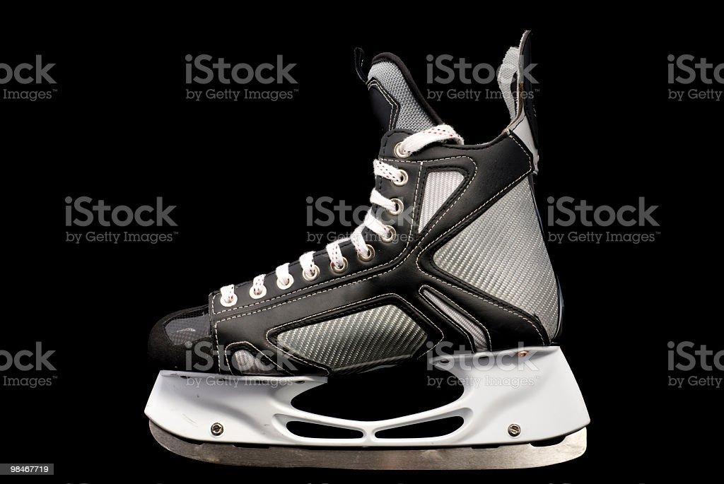 hockey skate, patin a glace royalty-free stock photo