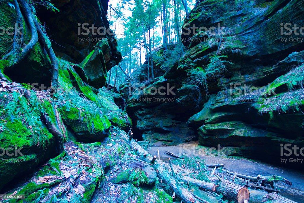 Hocking Hills State Park stock photo