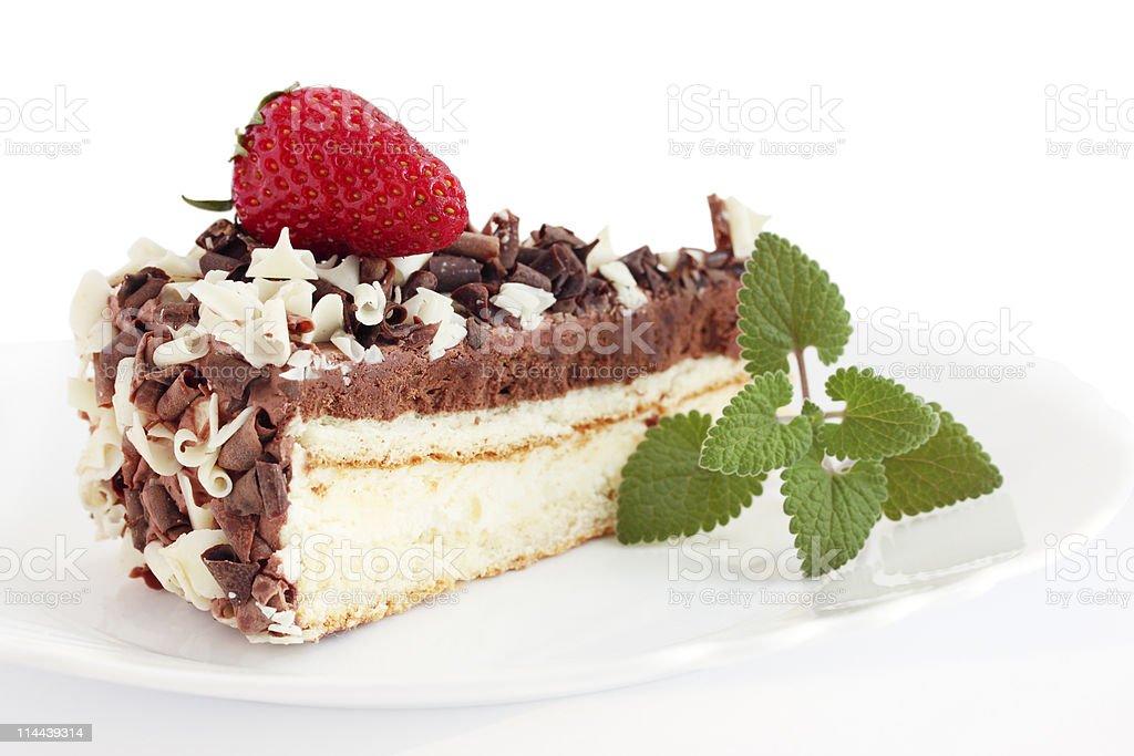 hocolate cake stock photo