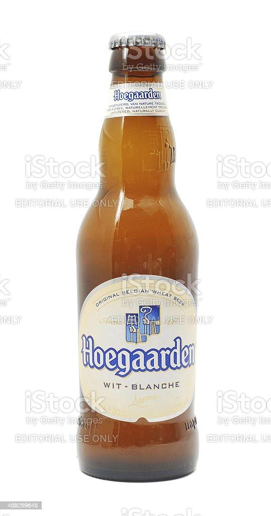 Hoegaarden beer stock photo